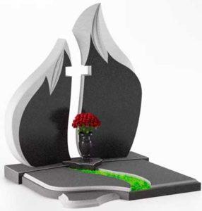 памятник в виде огня