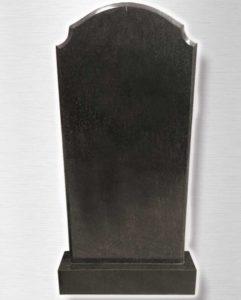 памятник на могилу из черного гранита